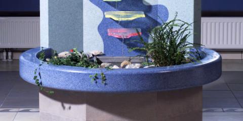 Brunnen aus marlan