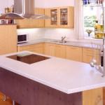 Küchenarbeitsplatte frei-stehend