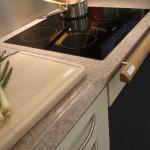 Küchenarbeitsplatte mit Ceranfeld