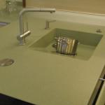 Übergangslose Küchenarbeitsplatte